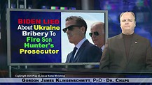 Biden Lied About Ukraine Bribery To Fire Son Hunter's Prosecutor