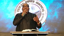 Texas State Council - Bishop Marvin Sapp