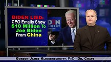 Biden Lied:  CEO Emails Show $10 Million To Joe Biden From China.