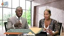 The Lifestyle of Faith and Power with Dr. Juan Williams and Tracy Williams - Faith and Hope Part 1