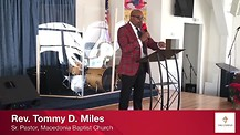 Pastor Tommy D. Miles
