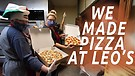 Making Pizza at Leo's in Jacksonvill...