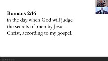 YESHUA AS JUDGE