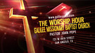 S2 E5 THE WORSHIP HOUR with PASTOR JOHN S. POPE
