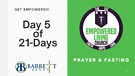 Day 5 of 2-Days of Prayer and Fasting