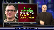 Military Chaplain in trouble about gender policy