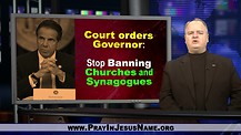 Judge Rules Governors Can Not Ban Church
