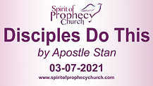 Spirit of Prophecy Church - Sunday Service - 03/07/2021