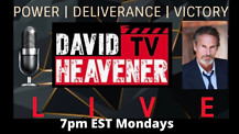 David Heavener Live Promo Invite