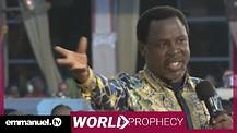 GERMAN TRAIN ATTACK PROPHECY | Prophet TB Joshua