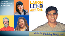 Laugh, Lend and Eat, The Podcast - Branding Yourself