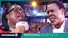 Woman COLLAPSES At TB Joshua Prophecy!!!