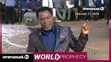 WORLD BATTLES PROPHECY | Prophet TB Joshua