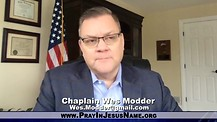 Former Navy Seal Chaplain Wes Modder Tells His Story