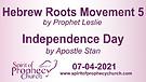 Spirit of Prophecy Church - Sunday Service 07/04...