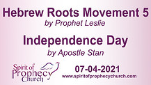 Spirit of Prophecy Church - Sunday Service 07/04/2021