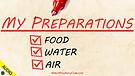 My Preparations 07/07/2021