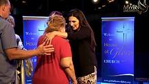12 Year Blind Eye Healed! - Apostle Cathy Coppola (SHORT VIDEO)