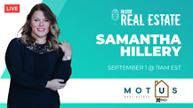 Samantha Hillery, Motus Real Estate - Being A Leader, Ingredients for Success, and More