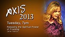 Axis 2013: Jane Hamon - Tuesday Evening - 7pm