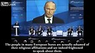 Russian president Putin defends Christian culture