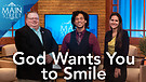 """Jeremy Holloway, Author of """"God Wants You to Smile"""" 