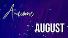 Awesome August 2019: Robert Morgan